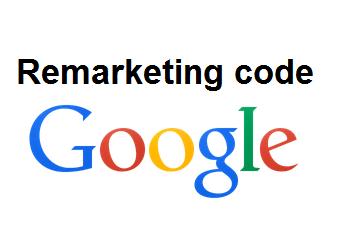 קוד רימרקטינג גוגל